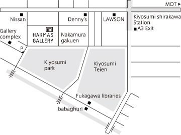 HARMAS GALLERY MAP
